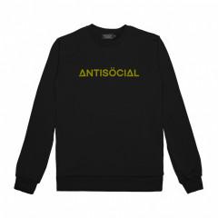 Свитшот Antisocial Bar Logo Heat Reactive Black