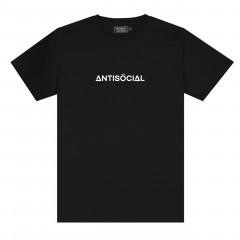 Футболка Antisocial Basic Black