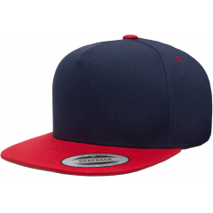 Кепка FlexFit 6007T - Classic Snapback Navy/Red