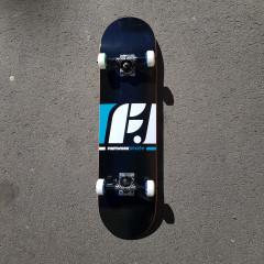 """Скейтборд в сборе Footwork Classic Black 8.0"""""""