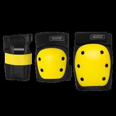 Комплект защиты Los Raketos COMBI LRK-006 Black/Yellow