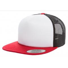 Кепка FlexFit Trucker Red/White/Black