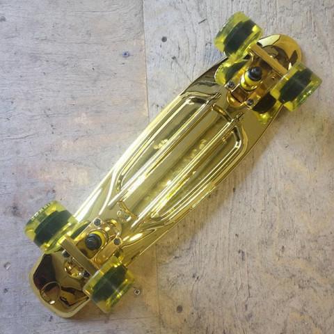 "Круизёр Virage Skateboards Gold Bar 22"""
